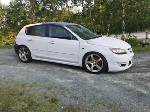 2007 MAZDASPEED 3 high performance project car.
