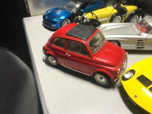 Fiat 500 antique diecast 1/18 die cast