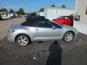 VERY NICE LOW KILOMETER 2009 MITSUBISHI ECLIPSE CONVERTIBLE