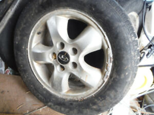 225 60 R16 Tires and HYUNDAI RIMS