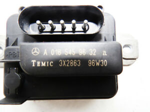Mercedes SL/S/C/CLK Class Auxilary fan relay module 0165459632