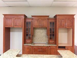 Armoire de cuisine, plaque de cuisson et four encastré