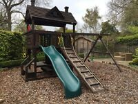 Selling Rainbow Play Systems climbing frame