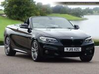 2015 BMW 2 Series 2.0 220d M Sport Auto (s/s) 2dr Convertible Diesel Automatic
