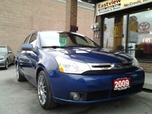 2009 Ford Focus NO ACCIDENT,AUTO,LEATHER,SUNROOF,AIR,ALLOYS$3899