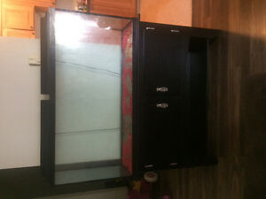 80 gallon fish tank and stand for sale