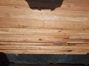 Unfinished Cherry Hardwood Flooring - 3 x 3/4 (650+ Sq Ft.)