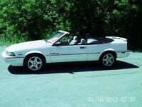 1993 Pontiac Sunbird SE Cabriolet