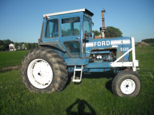tracteur  ford 8600