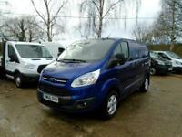 2016 (65) FORD TRANSIT 2.2 TDCi 125ps SWB Low Roof Limited Van (NO VAT)