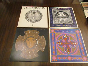The Mission Vinyl LPs- Four in Total- All Excellent
