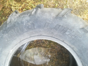 2 mud lite ATV tires.