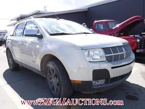 2007 LINCOLN MKX  4D UTILITY 2WD