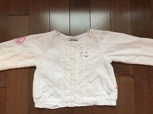 Petite veste Souris Mini pour fille grandeur 3 ans