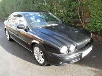 Jaguar X-TYPE 3.0 V6 auto Sport. Black.