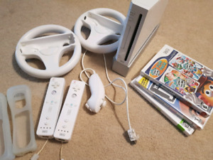 Used Wii, accessories and games in good shape