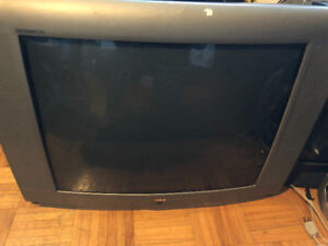 3 old TVs  very good made and well known companies for sale