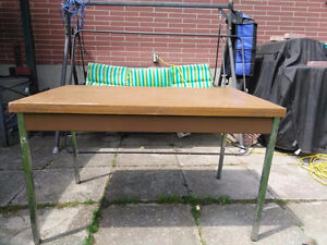 2 Tables Metal Frame  Craft Table/Workbench?
