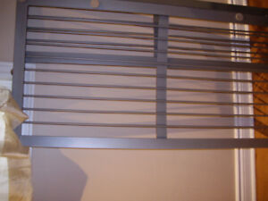 METAL strongDOUBLE BED, SILVER COLOR, BRAND NEW CONDITION $165