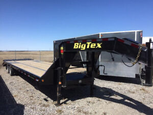 Big Tex 22GN HD 28ft + 5ft Tandem Dual Axle Gooseneck-6399