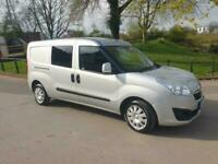 Vauxhall Combo 1.3CDTi 16v ( 90PS ) L2H1 ecoFLEX 5 Seats Crew Sportive 2016 16