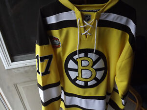 "FS: Boston Bruins ""2010 Winter Classic"" Milan Lucic Pro Jersey w London Ontario image 1"
