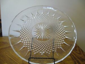 NEW CRYSTAL SERVING TRAY