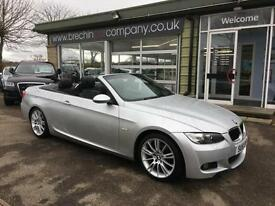 BMW 320 2.0TD auto DIESEL M Sport CONVERTIBLE-FINANCE ARRANGED