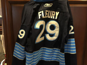 Fluery Penguins youth jersey