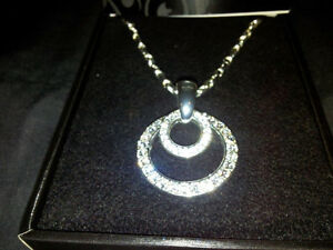 Beautiful Circle of Life designer necklace $1225.00 value London Ontario image 1