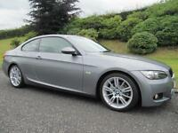 2009 BMW 320d M Sport Coupe Automatic Full Leather