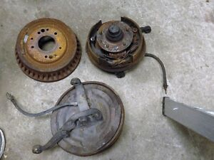 64-67 nova front drum brakes and spindles Kitchener / Waterloo Kitchener Area image 3