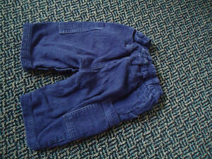 Baby Size 3-6 Months Corduroy Dark Blue Pants Kingston Kingston Area image 2