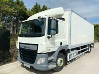 2016 (66) CF 65,220 GRP BOX SLEEPER 18TON EURO-6 TAIL-LIFT AIR-RIDE DELIVERY