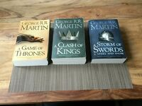 Game of Thrones - First three books