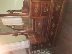 Dresser and matching night stand