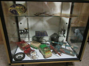 Collectible Toys,bottles,doll,models.with display case Sarnia Sarnia Area image 1