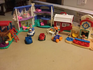 Little people - maison, parc, école, ferme, camion