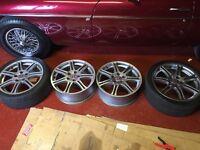 Honda Civic type r wheels ep3
