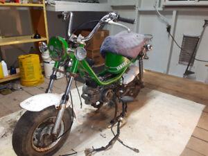 Yamaha chappy 50cc 1977 avec papiers