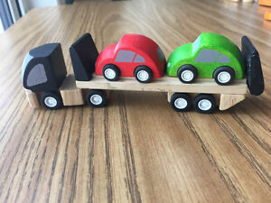 Car Transporting Truck from Plan Toys