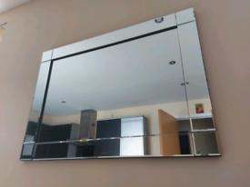 John Lewis Large wall large crystal mirror