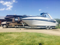 Only 116 Hours on this 2007 Crownline 270 CR with Trailer