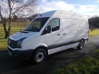 VOLKSWAGON CRAFTER CR35 TDI MWB VAN 15 REG ONLY 20,500 MILES