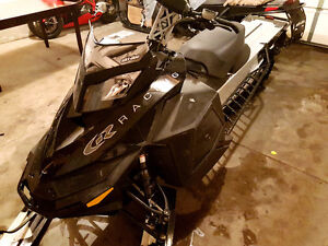 2009 Summit Skidoo 3inch drop and rolled 163