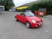 2004 FORD STREET KA 1.6 CONVERTIBLE LOW MILE