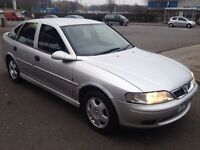 VAUXHALL,VECTRA,CLUB,1.8cc,LOW MILES,2001,5DR,SILVER