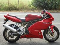 DUCATI 750 SS, 1999/T, JUST 9.768 MILES WITH HISTORY