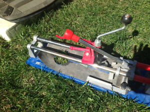 Tile cutter for large tiles - free delivery