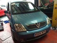 Vauxhall Meriva 1.7 Diesel 12 months mot
